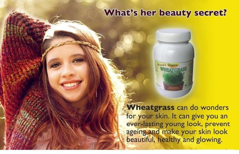 Wheat Grass for Skin
