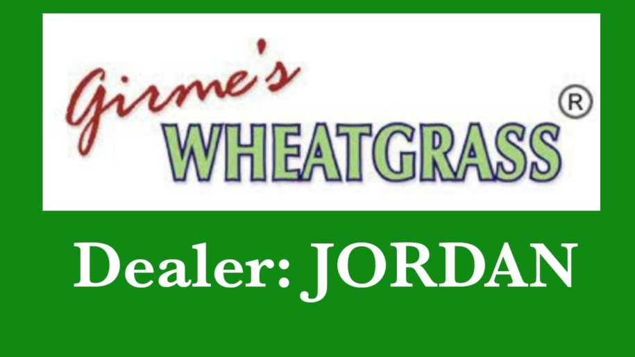 Girme's Wheatgrass Powder Dealer - Jordan