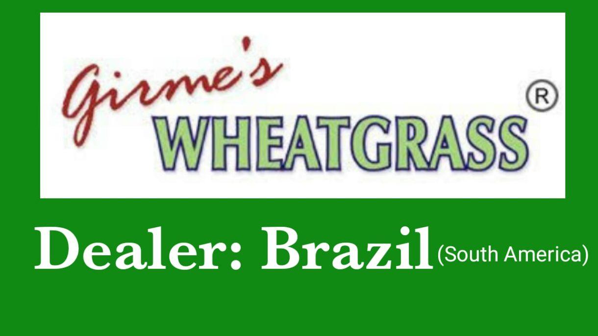 Girme's Wheatgrass Powder Dealer In BRAZIL