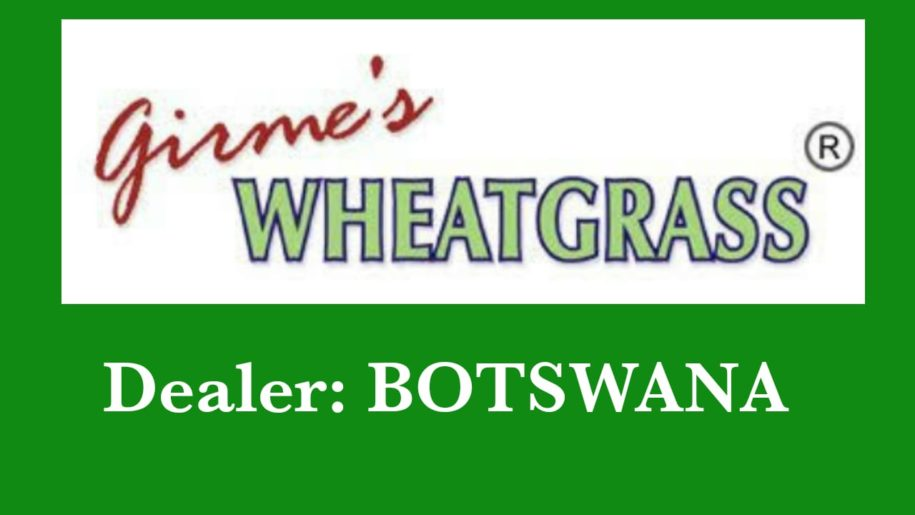 Girme's Wheatgrass Powder Dealer – Botswana
